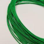 Жесткая канитель, зелёный цвет, 1-1.25 мм толщина, KS7709