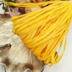 Raffia Matt Finish, Buff Yellow Color, 5 mm width