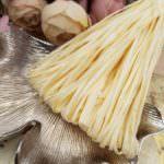 Рафия, матовый кремовый цвет, ширина 5 мм