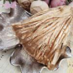 Raffia Pearl Finish, Gold Color, 5 mm width