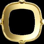 4470/S Swarovski Settings Tombac Gold Plating 10 mm
