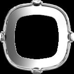 4470/S Swarovski Settings Tombac Rhodium Plating 10 mm