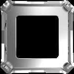 4499/S Оправы для кристаллов Swarovski, Родиевое покрытие, 10 мм