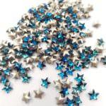 4745 Swarovski Rivoli Star Fancy Stone, Bermuda Blue 5 mm