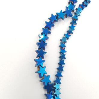 Hematite star blue color