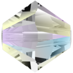 5328 Swarovski Xilion Beads (bi-cone) Crystal AB2X, 3mm, 10pcs
