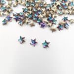 4745 Swarovski Rivoli Star Fancy Stone, Vitrail Light 5 mm