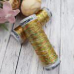 Нить для вышивания Gutermann, Металлик, Цвет №7020, 200 м