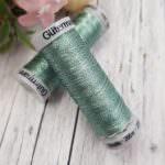 Нить для вышивания Gutermann, Металлик, Цвет №7053, 200 м