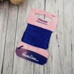 Glitter Thread Hemline, Royal Blue, 10m