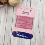 Glitter Thread Hemline, Pink, 10m