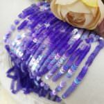 French Flat Sequins/Paillettes, Iridescent Light Purple (#3025) Sequins 3 mm, by Langlois-Martin