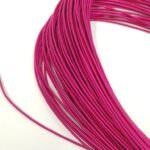 Stiff French Wire, 1-1.25mm diameter, Fuchsia Color, KS3044