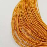 Stiff French Wire, 1-1.25mm diameter, Orange Color, KS7318