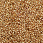TOHO Round Seed Beads 15/0 Galvanized Rose Gold TR-15-551