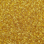 TOHO Round Seed Beads 15/0 24k Gold Lined Crystal TR-15-701