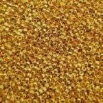 TOHO Round Seed Beads 15/0 Metallic 24k Gold Plated TR-15-712