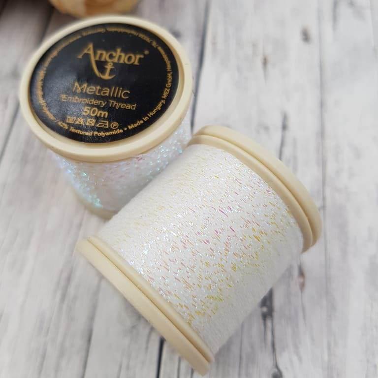 Anchor Metallic Thread Cream