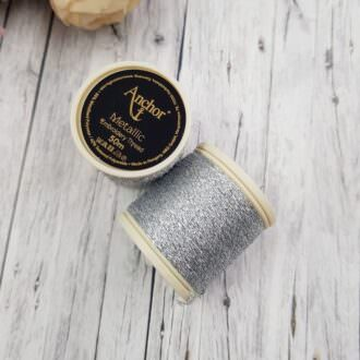 Anchor Metallic Thread Sillver