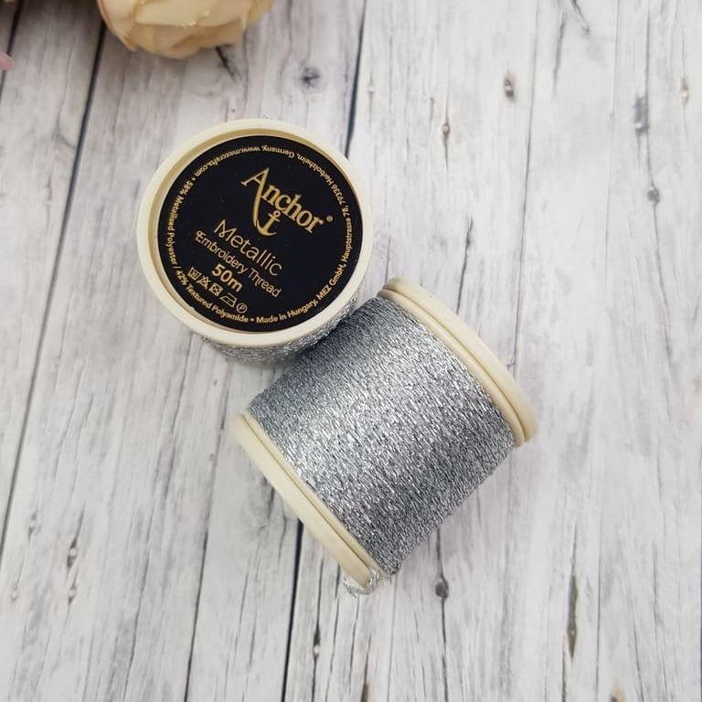 Anchor Metallic Thread Sillver