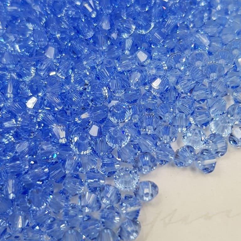 Swarovski Xilion Beads Bicon 5328 MM 3,0 CRYSTAL Light Sapphire