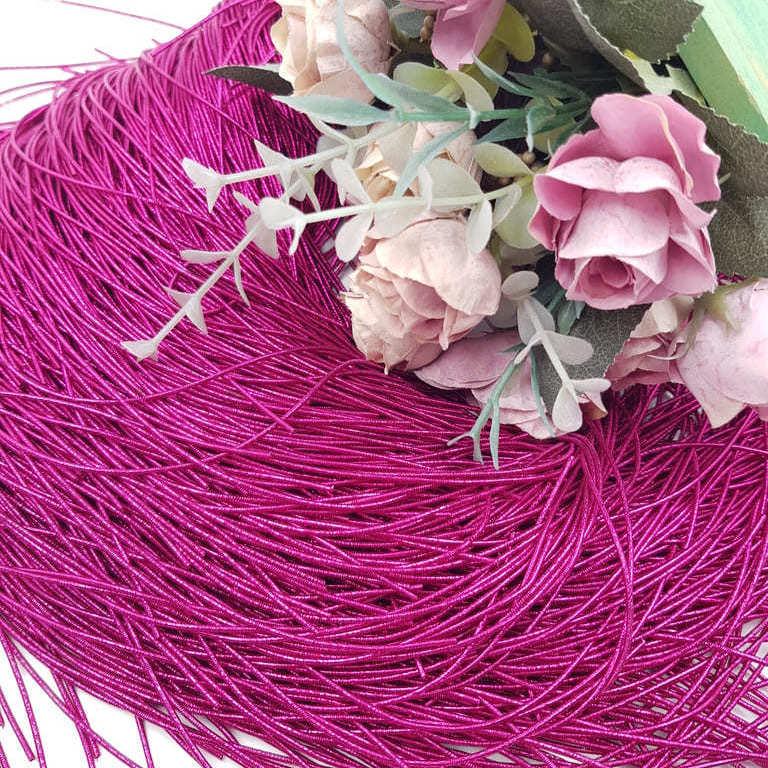 French wire/Bullion wire Fuchsia