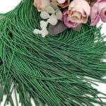 Канитель (жесткий трунцал), тёмно-зеленый, 1 мм