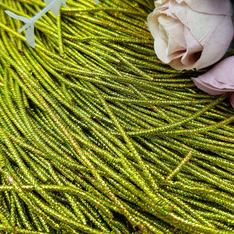 French wire/Bullion wire Green-Gold
