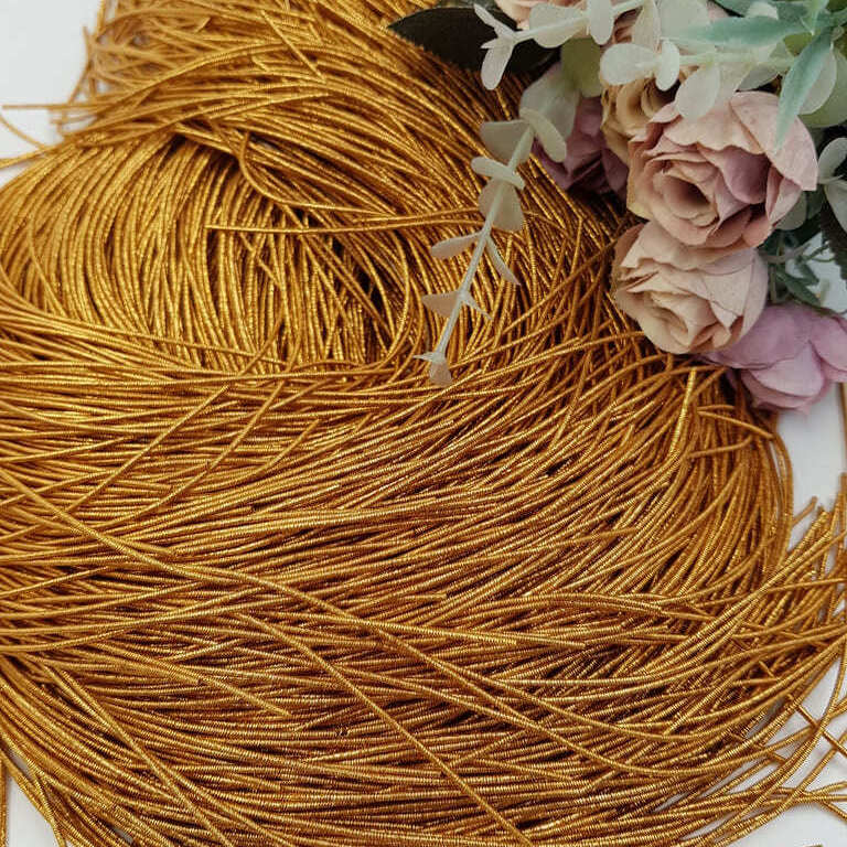 French wire/Bullion wire antique gold