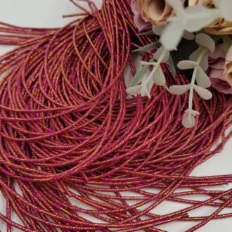 French wire/Bullion wire multicolor pink
