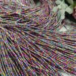 French Wire/Bullion Stiff Wire, Multicolor, 1 mm