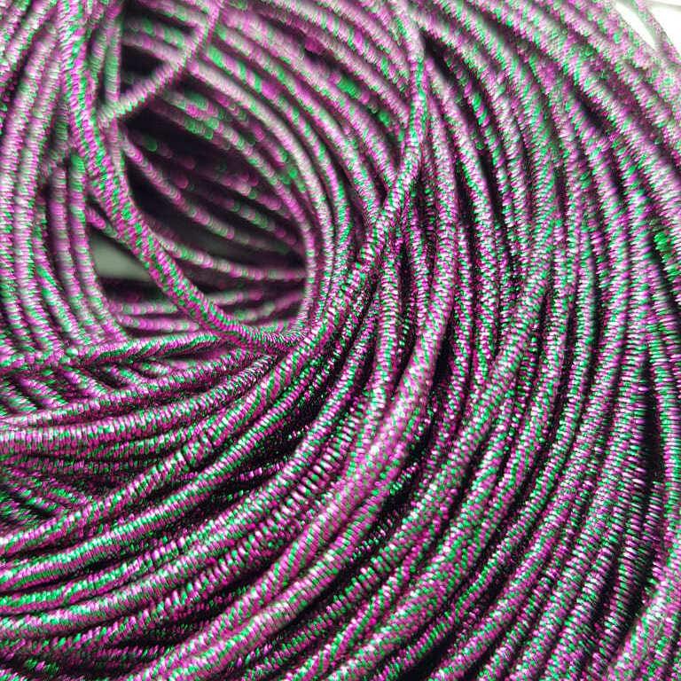 French wire/Bullion wire multicolor purple