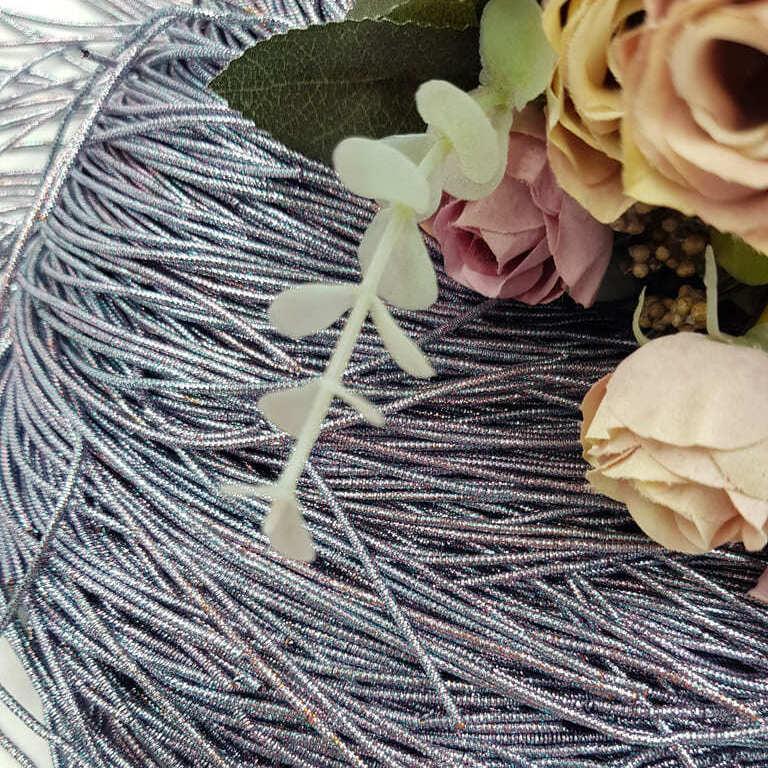 French wire/Bullion wire multicolor silver