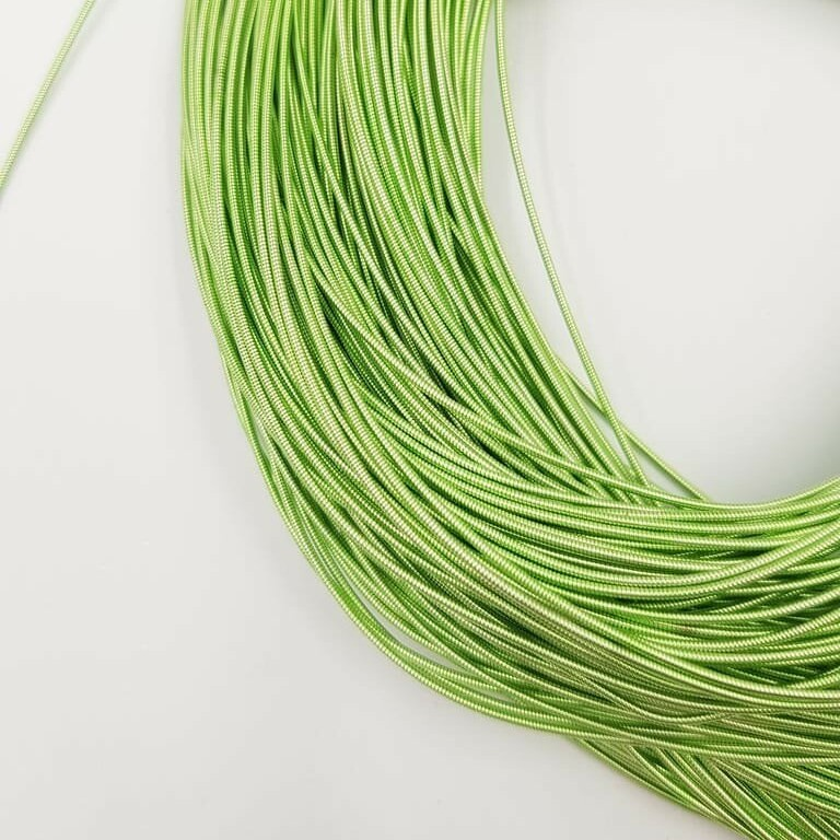 Stiff French Wire, Pistachio Color, 1mm
