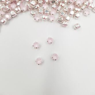 53200 Swarovski Chaton Montees, Powder Rose