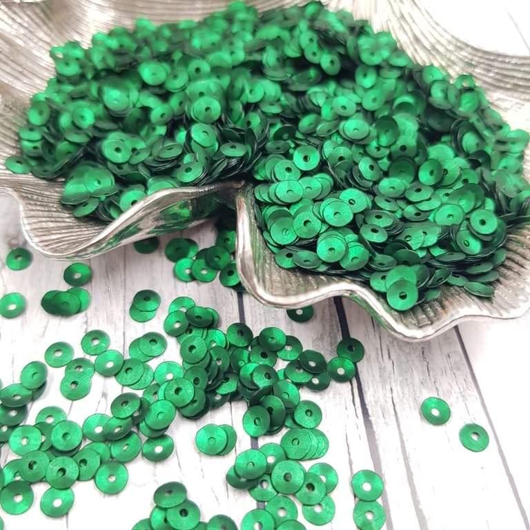 MC4-746W Cup Sequins Verde Andreai Bilics