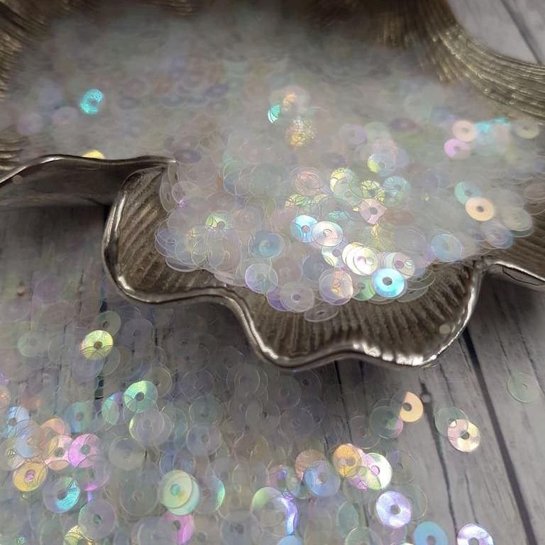 MP4-101 Loose flat sequins transparent rainbow Andrea Bilics