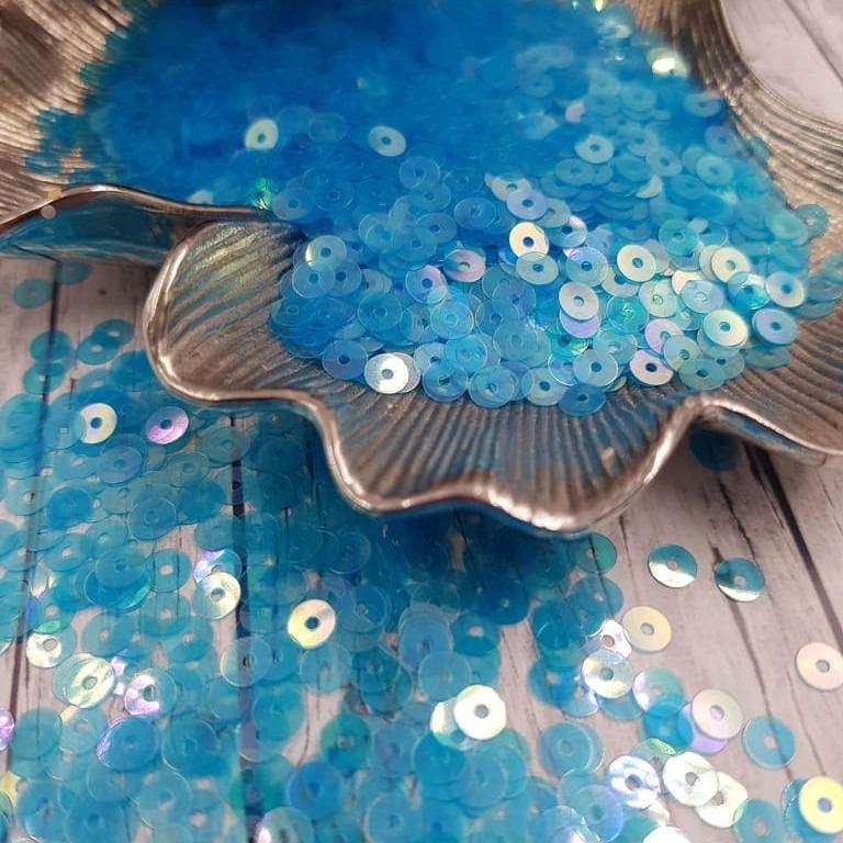 MP4-121 Loose flat sequins dark blue Andrea Bilics