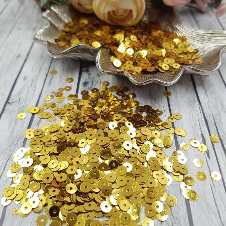 MP4-2011 Loose flat sequins Gold Metallizzati Andrea Bilics