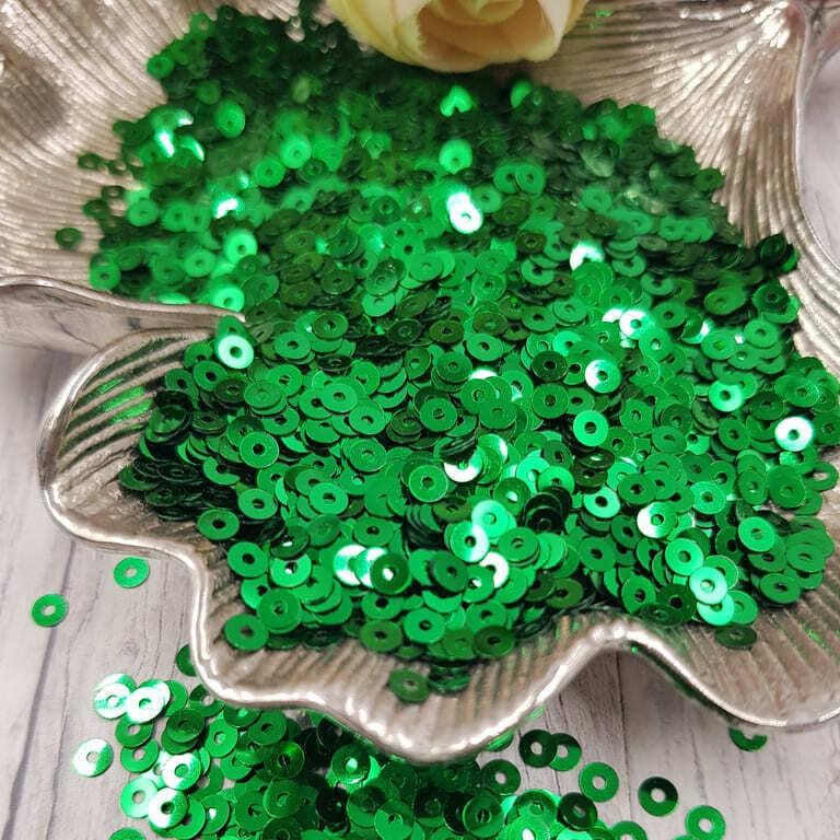 MP4-7031 Loose flat sequins green bondiera Metallizzati Andrea Bilics