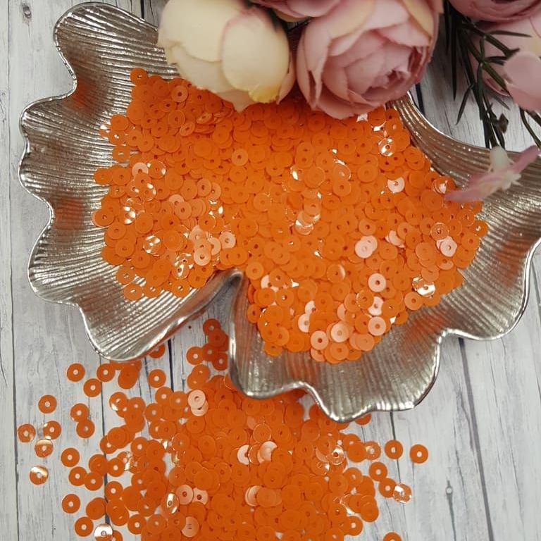 MP4-3194 Opaline Orange Italian Sequins, Andrea Bilics