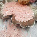 "Italian Flat Sequins/Paillettes, Baby Pink ""Opaline"" Aspect #3344, Andrea Bilics"