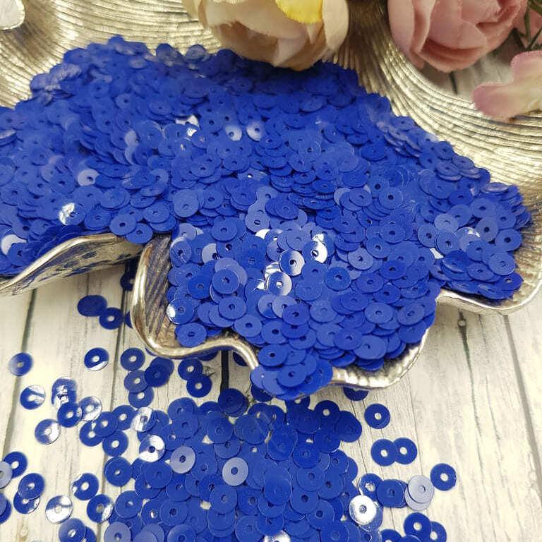 MP4-6774 Opaline Blue Electrico Italian Sequins, Andrea Bilics