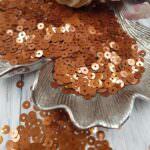 """Italian Flat Sequins/Paillettes, Bronze """"Metal"""" #8179, Andrea Bilics"""