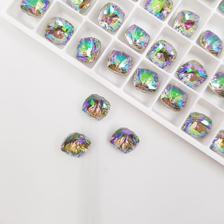 Swarovski Fancy Stones Mystic Square FS Paradise Shine 8mm 5526287