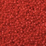 TOHO Round Beads 15/0 Opaque Pepper Red, TR-15-45
