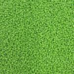 TOHO Round Seed Beads 15/0, Opaque Mint Green, TR-15-47