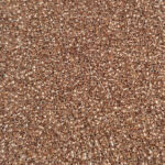 TOHO Round Seed Beads 15/0, Copper-Lined Crystal, TR-15-740
