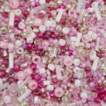 TOHO Multi-Shape/Color Mix, Sakura-Cherry Mix, TX-01-3214