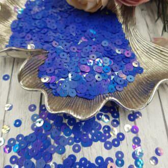 MP4-6233 Loose flat sequins blue oriental Andrea Bilics
